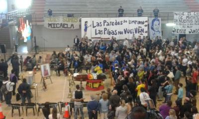 Se despidieron los restos de Micaela García — Concepción del Uruguay